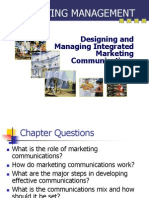 Comm Strategies in marketing