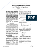Optimal Reactive Power Planning Based on Improved Tabu Search Algorithm