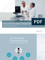 Siemens Acuson S1000 Brochure