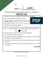 Prova Edital 114 2013 Assistente de Aluno001