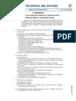 BOE 287. Anuncios de licitaciones Públicas y adjudicaciones. Ministerio de Empleo y Seguridad Social. 30 no. 2013