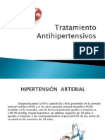 Tratamiento  Antihipertensivos