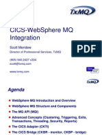 SM MQ CICS Integration