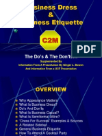 Business Dress and Ediquette