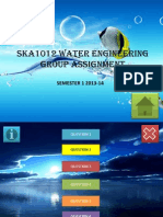 SKA1012 Water Engineering -Group Assignment
