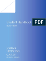2010-2011 Student Handbook