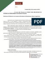 Funasa Residuos Solidos Portaria 1.203-2013