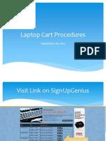 laptop cart procedure presentation
