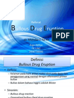 Bulous Drug Eruption
