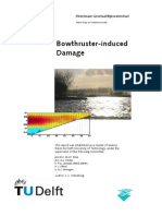Bowthruster Induced Damage