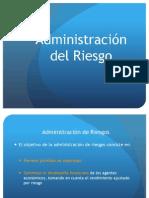 Administracion Del Riesgo Financiero