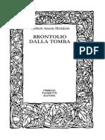 Brontolio Dalla Tomba
