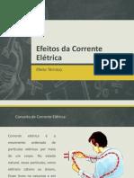 Efeitos da Corrente Elétrica_Física