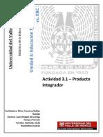 Didáctica de la Educación basada en Competencias - Proyecto Final