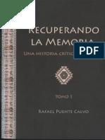 Puente Rafael - Recuperando La Memoria