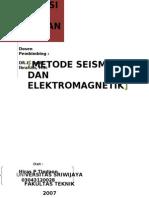 Seismic & Electromagnetic Methods