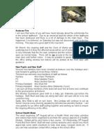 2009-08-18 Newsletter