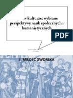 Płeć w kulturze, cz.2
