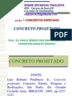 Concreto Projetado