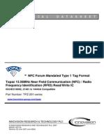TDS_TOPAZ NFC TAG