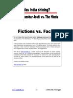 The Hindu vs Dr Joshi