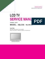 42LC55  42 inch LG manual
