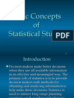 Basic Concepts of Statistics