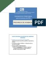 Diagnostico Territorial Ayabaca