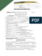Retake Exam 10th Grade 2013