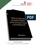 Marian Rujoiu-Tips and Tricks-In Motivarea Non-financiara