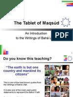 Tablet of Maqsud (English)