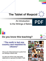 Tablet of Maqsud (English)