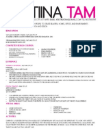 resume best and final 2013