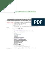 Ingrijirea Pacientului Cu Astm Bronsic