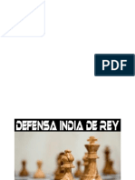Defensa India de Rey
