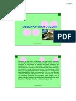 14. Design - Beam_Column