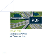 Deloitte Construction Report Europe 2012