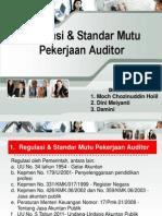 Regulasi & Standar Mutu Pekerjaan Auditor