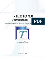 The T-TECTO 3.0 Program - Introductory Tutorial