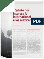 ¿Cuánto nos interesa lo internacional a los mexicanos? (La Nación 2382)