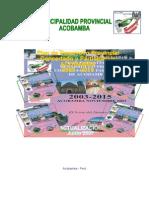 Pdcp Prov. Acobamba