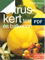 Citruskert teraszon és balkonon - Peter Klock