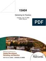 15A04 Marketing for Rookies RSims