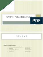 Roman Architectureure