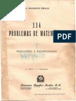334 PROBLEMAS DE MATEMÁTICA0001