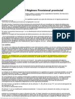 La Mañana - Modificaciones en el Régimen Previsional provincial