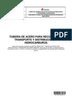 Nrf_001_pemex 2013-Tuberia de Acero Para Recoleccion y Distribucion de Hidrocarburos