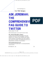 Faq Guide to Twitter