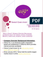 reorganizing yahoo case study analysis