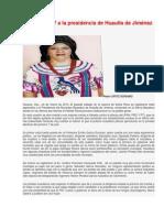 Se registran 7 a la presidencia de Huautla de Jiménez por el PRI